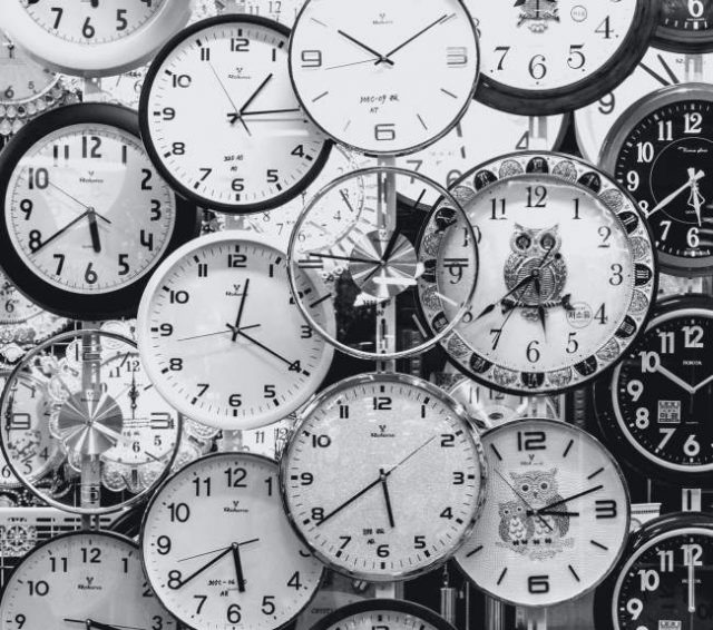 Clocks. Time